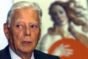 Umberto Agnelli in un'immagine del 2 febbraio 2001.