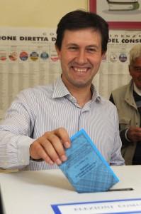 Dario Nardella, primo giorno da sindaco in sala parto
