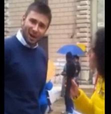 """Alessandro Di Battista a giornalista Tg3: """"Metto video online"""". Ma tg non taglia"""