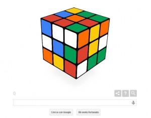 Cubo di Rubik: doodle di Google del 19 maggio: clicca e risolvilo