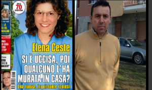 """""""Elena Ceste si è uccisa, poi qualcuno l'ha murata in casa"""""""