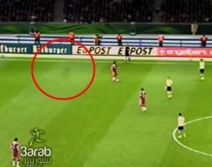 Fantasma in campo durante Borussia-Bayern (VIDEO)