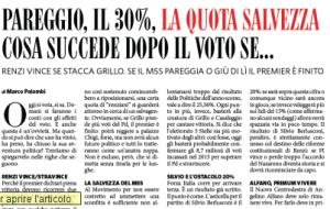 Elezioni Europee: pareggio, 30%, vittoria... cosa succede dopo il voto se...