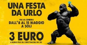 Festa del Cinema dall'8 al 15 maggio: biglietti a 3-5 euro contro la crisi
