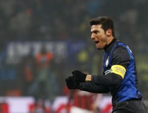 Inter-Lazio, ultima partita a San Siro in carriera per Javier Zanetti (LaPresse)