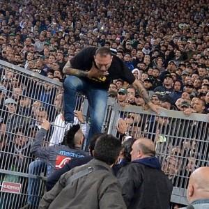 Genny 'a carogna, da hooligans in Arsenal-Napoli alla Coppa Italia (foto Ansa)