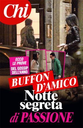 """""""Gigi Buffon e Ilaria D'Amico, notte insieme a Milano"""": la foto di Chi"""
