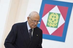 """Giorgio Napolitano: """"Il 1° maggio va chiamato allarme lavoro"""""""