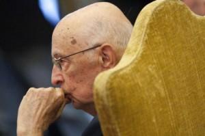 """Giorgio Napolitano: """"Intransigenza assoluta per chi usa la spranga"""""""