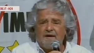 """Beppe Grillo: """"Vado da Bruno Vespa per parlare a chi mi crede Hitler"""""""