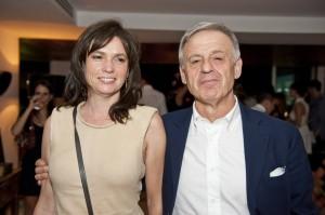 Martina Hauser e Corrado Clini