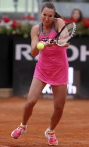 "Tennis, Open Bnl. Jelena Jankovic: ""Sara Errani? Sarà dura batterla"" (LaPresse)"