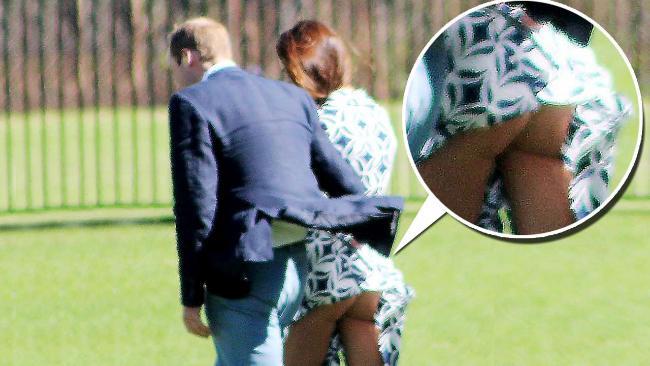 Kate Middleton senza mutande? Dalla foto sembra che