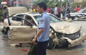 Cina. Uccide 7, ferisce 12: auto su marciapiede dopo udienza divorzio