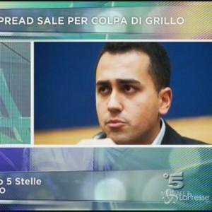 """Luigi Di Maio: """"Pd ha paura di noi. Spread sale? Colpa di Renzi"""