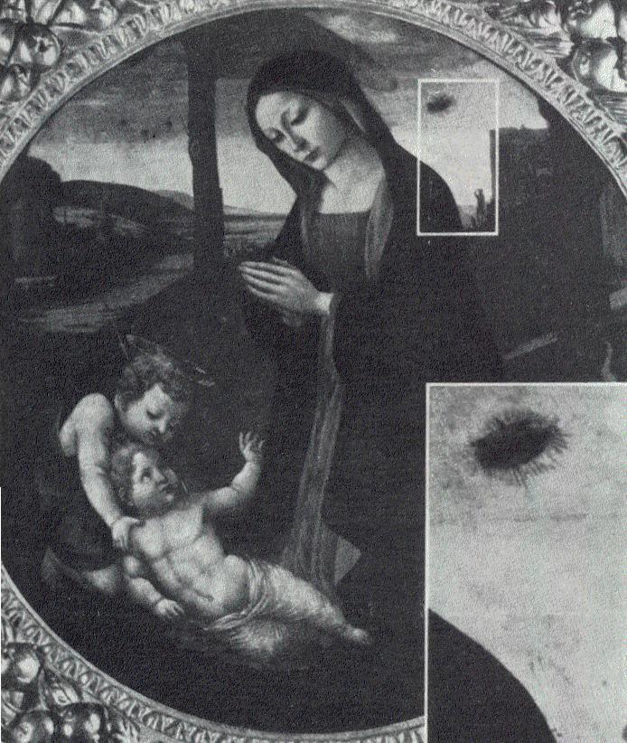 Commento all'articolo Ufo: Filippo Lippi ('400) e Bonaventura Salimbeni ('500) li hanno dipinti?  di Smithd438