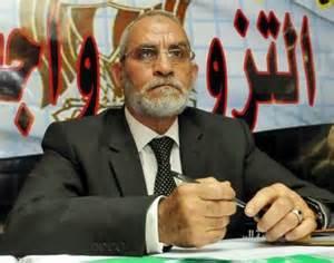 Il leader dei Fratelli Musulmani Mohammed Badie