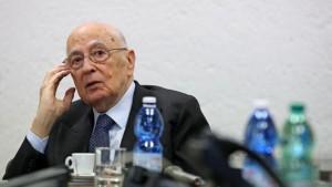 """Napolitano a Camusso: """"Allarme disoccupazione giovani e 50enni. Impegno di tutti"""""""