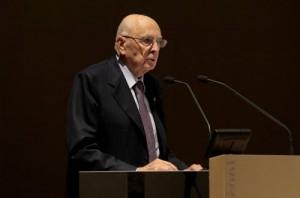 """Europee, Napolitano: """"Occorre serenità. Guardate all'Italia con fiducia"""""""