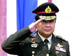 Il capo della giunta Prayuth