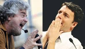 """Matteo Renzi: """"Beppe Grillo sciacallo a Piombino. Mette operai contro sindacati"""""""