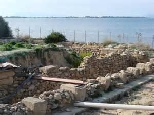 Le rovine del rione fenicio