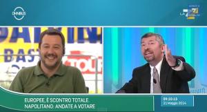 """Salvini prende in giro Scalfarotto: """"1000 lire per un ghiacciolo? Costava 100"""""""