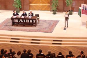Laura Boldrini contestata da studentessa all'università La Sapienza