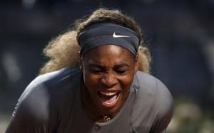 Serena Williams in finale contro Sara Errani (LaPresse)