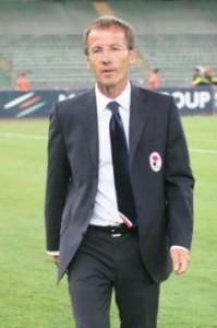 Alberti, allenatore del Bari (foto LaPresse)