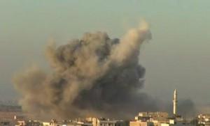Siria. 60 tonnellate di esplosivo: in aria base militare, 10 morti