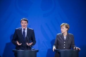 "Libero: ""Ma Renzi si inchina alla Merkel e prepara l'europatrimoniale"""
