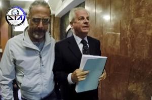 L'arresto di Claudio Scajola (foto Lapresse)
