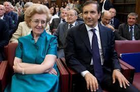 Luigi Gubitosi, a destra, con la presidentessa Anna Maria Tarantola: una improbabile coppia alla Rai
