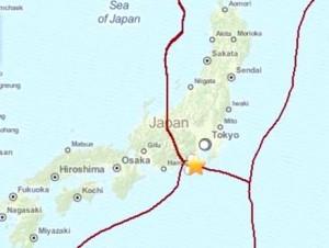 Terremoto Giappone, violenta scossa di magnitudo 6.2 tra Tokyo e Izu Oshima