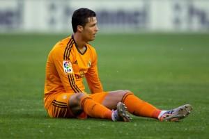 Valladolid-Real Madrid, Cristiano Ronaldo ko (foto da video)