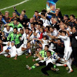 Real Madrid campione d'Europa (foto Ansa)