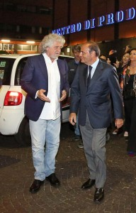 """Bruno Vespa: """"Beppe Grillo? Cercava i voti del Pd"""""""