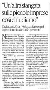 L'intervista di Repubblica (edizione Roma) a Lorenzo Tagliavanti