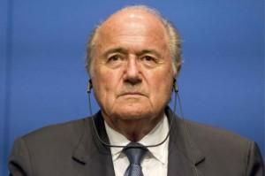Blatter (foto Lapresse)
