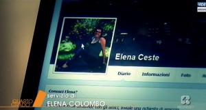 Elena Ceste, il profilo Facebook