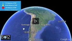 Un fram del video pubblicata dall'organizzazione B612