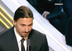 Zlatan Ibrahimovic parla male francese