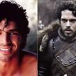 Luca Argentero come Robb Stark.
