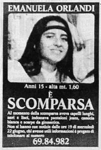 Emanuela Orlandi e Mirella Gregori rapite e uccise: la pista del Brasile