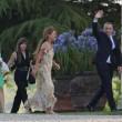 Eros Ramazzotti e Marika Pellegrinelli, festa di nozze 70
