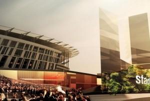 Roma, progetto nuovo stadio: coinvolto anche Libeskind