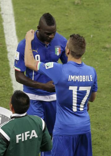 Italia-Uruguay, Prandelli con Immobile-Balotelli si affida a 60 milioni di ct
