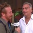 """Paolo Bonolis e la toccatina di Mazzocchi: """"Ne sono uscito a 90 gradi..."""" VIDEO"""