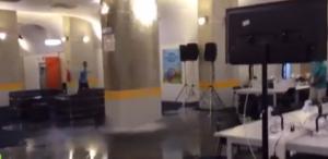Italia-Uruguay: allagata la sala stampa dello stadio di Natal